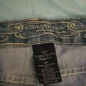 Used like New Faded Glory Boot cut Streatch Jeans